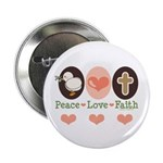 Peace Love Faith Christian 2.25