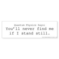 Quantum Physics #1 Bumper Bumper Sticker