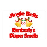 Kimberly - Jingle Bells Postcards (Package of 8)