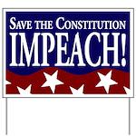 Constitution Impeachment Yard Sign