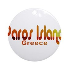 Paros Island, Greece Ornament (Round)