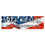 Mike Gravel Bumper Bumper Sticker