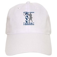 Best Friend Fought Freedom - NAVY Baseball Cap