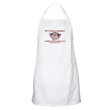 If I were a Monkey BBQ Apron