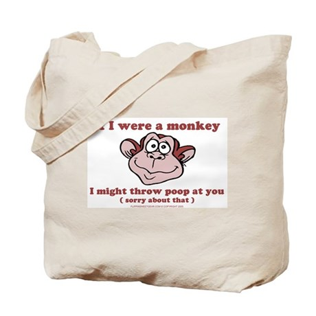 If I were a Monkey Tote Bag