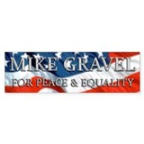 Mike Gravel 2.0 Bumper Bumper Sticker