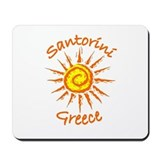Santorini, Greece Mousepad