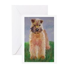 Wheaten Greeting Card