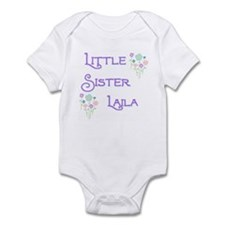 Little Sister Laila Infant Bodysuit