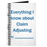 Clm Adjuster - All I know Journal