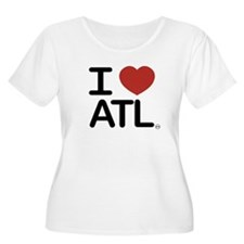 3-IheartATLcom Plus Size T-Shirt