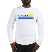 Greece Long Sleeve T-Shirt