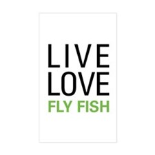 Live Love Fly Fish Decal