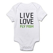 Live Love Fly Fish Infant Bodysuit