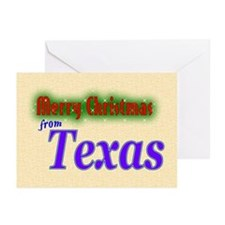 Texas Christmas Card Greeting Cards (Pk of 20)