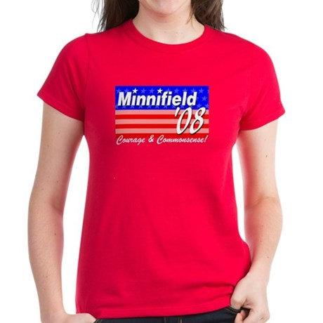 Minnifield in '08 Women's Dark T-Shirt