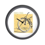 Retro Ride Wall Clock