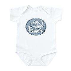 Atlantic Colophon Infant Onesie