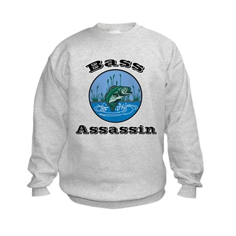 Bass Assassin Kids Sweatshirt