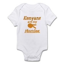 Kenyans are my HOmies Infant Bodysuit