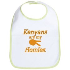 Kenyans are my HOmies Bib