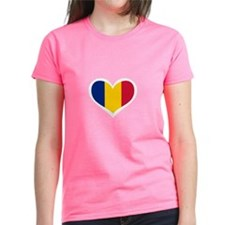 Romania Love Heart Tee