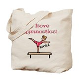 I Love Gymnastics (Kayli) Tote Bag