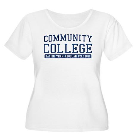 community college. it's easier! Women's Plus Size