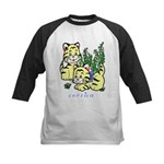 Cat Kids Baseball Jersey