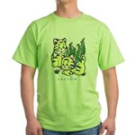 Cat Green T-Shirt