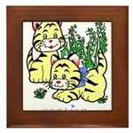 Cat Framed Tile