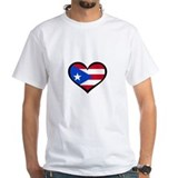 Puerto Rico Love Heart Shirt