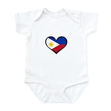 Filipino Love Infant Bodysuit
