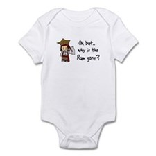 Why is the Rum gone? Infant Bodysuit