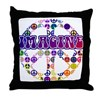 Imagine Peace Anti-war Art Throw Pillow
