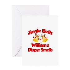 William - Jingle Bells Greeting Card