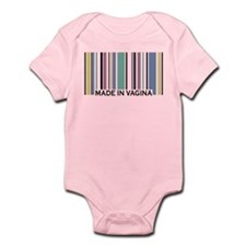 Made In Vagina Infant Bodysuit
