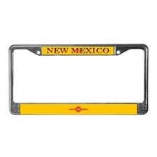 New Mexico State Flag License Plate Frame