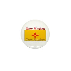 New Mexico State Flag Mini Button (10 pack)