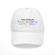 Poodle Property Laws 2 Baseball Cap