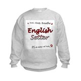 English Setter Breathe Sweatshirt