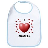 I Love Aracely - Bib