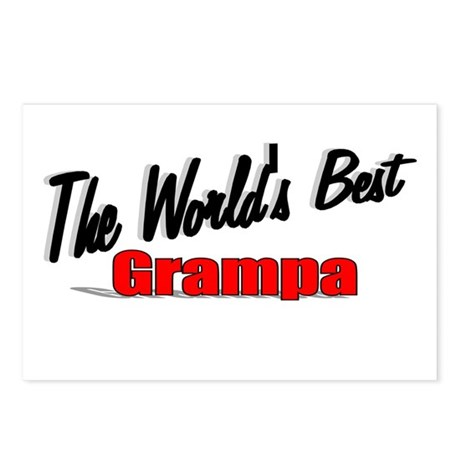 """The World's Best Grampa"" Postcards (Package of 8)"