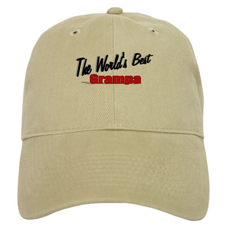 """The World's Best Grampa"" Cap"