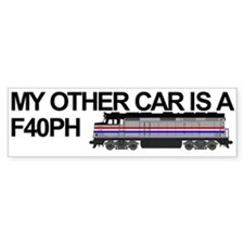 F40PH Bumper Car Sticker