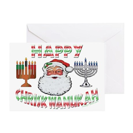HAPPY CHRISKWANUKAH Greeting Card