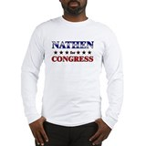 NATHEN for congress Long Sleeve T-Shirt