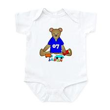 Teddy Bear Trucks Infant Bodysuit