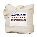 NATHALIE for congress Tote Bag