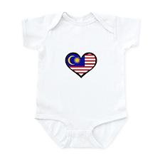 Malaysia Love Infant Bodysuit